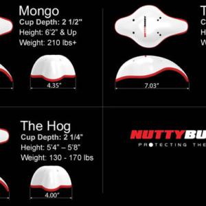 Nuttybuddy Athletic Cup Pression Shorts Nutty Buddy Size Chart