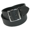 Black Leather 1 3/4 Inch
