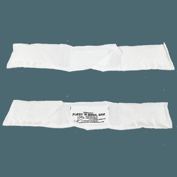nylon-narrow-belt-bean-bag-white