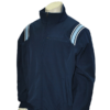 Thermal Fleece Navy Blue with Powder Blue and White Trim