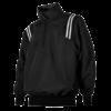 Black Baseball Pullover Jacket