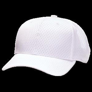 white-mesh-referee-hat