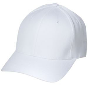 white-referee-hat